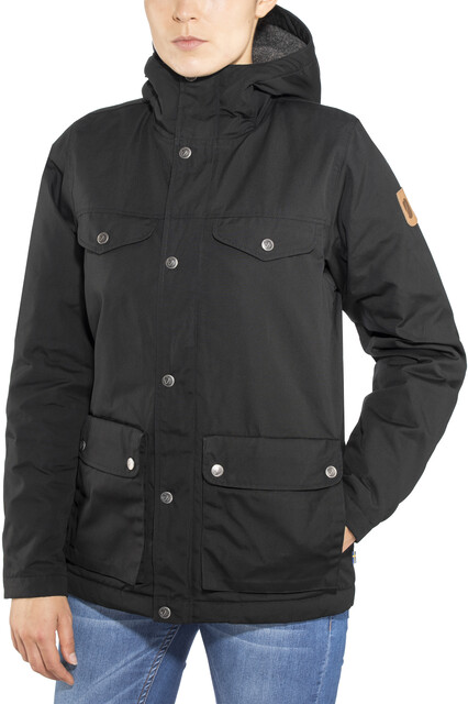 Fjällräven Greenland Winterjacke Damen black